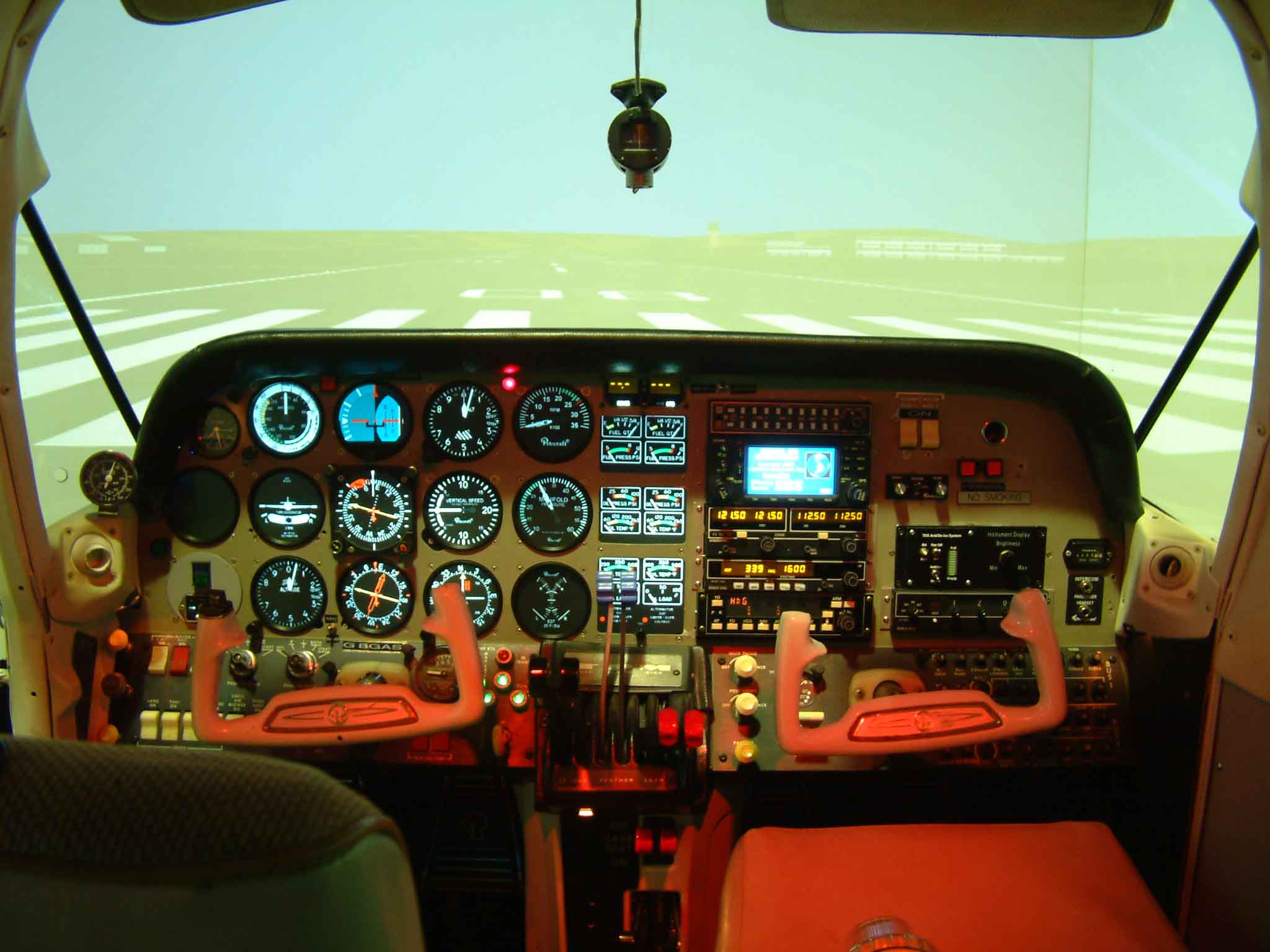 FNTP II BE76 Flight simulator