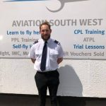 marc stood outside Aviation South West